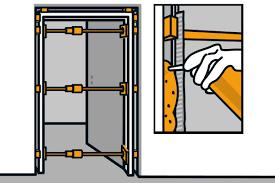 glastür einbauen anleitung hornbach