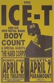 Body Count Ice T Cop Killer Rap Hip Hop Concert Poster