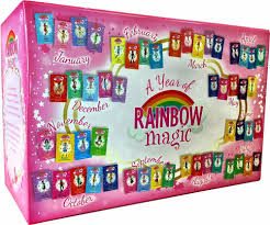 Trixie The Halloween Fairy Pictures by A Year Of Rainbow Magic Boxed Collection 52 Books Ultimate Bedtime