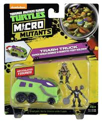 Donatello's Trash Truck - Micro Mutant Vehicle | Toy | At Mighty Ape ... Teenage Mutant Ninja Turtles Out Of The Shadows Turtle Tactical Sweeper Ops Vehicle Playset Toysrus Tagged Truck Brickset Lego Set Tmachines Raph In Monster Drag Race Grave Digger Vs Teenage Mutant Ninja Turtles 2 Dump Party Wagon Revealed Wraps With 7 Million Local Spend Buffalo Niagara Film Pizza Van To Visit 10 Cities With Free Daniel Edery Large Teenage Mutant Ninja Turtle Truck Northfield Edinburgh