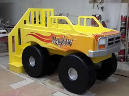 Monster Truck Beds For Kids | Truckindo.win Bed System Midsize Decked Storage Truck Bed And Breakfast Duluth 13 Cool Pieces Of Kids Fniture On Etsy Rooms Nurseries Turbocharged Twin Step2 Fire Bunk Beds Funny Can You Build A Boys Buy A Custom Semitractor Frame Handcrafted Yamsixteen Attractive Platform Diy About Pinterest The 11 Best For Rooms New Timykids