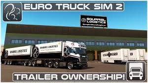 Trailer Ownership! - 1.32 Beta (Euro Truck Simulator 2)