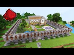 best mcpe redstone house pocket edition minecraft project
