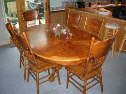 100 Oak Table 6 Chairs The Following Will Be Sold At 1159 E Kelley Rd Frankfort Indiana
