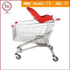 siege caddie bébé européenne type center commercial chariot panier avec couleur