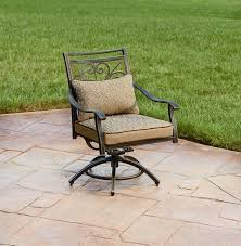 Agio International Fair Oaks Swivel Rocker Dining Chair -