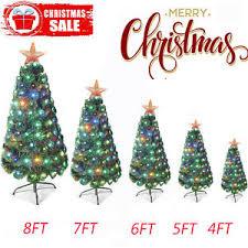 Image Is Loading 3 7ft Pre Lit Fiber Optic Artificial Christmas