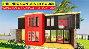 100 Homes From Shipping Containers Floor Plans Modular Container Prefab 3 Bedroom House Design With LIFTBOX 1280