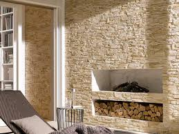 steinwand im wohnzimmer 30 inspirationen klimex doc