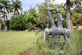 Miami Beach Botanical Garden Transformed Into African Sculpture