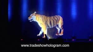 Buy Halloween Hologram Projector by Past Projects Holographic Trade Show Exhibits