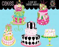 Cake Clipart Cake Clip Art Digital Cake Wedding Cake Clipart Birthday Cake Clip Art Cake Digital