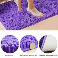 badematte chenille badteppich badvorleger duschvorleger