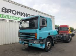 DAF CF 75.320 - Sleepercab - EURO2 - 4451 Chassis Trucks For Sale ...