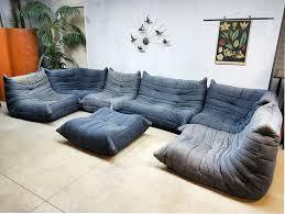 100 Lignet Rose Togo Ligne T Vintage Design Lounge Bank Sofa Xxl Michel Ducaroy