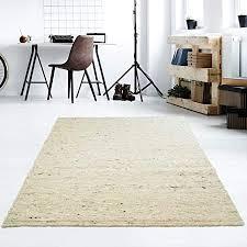 taracarpet moderner handweb teppich alpina handgewebt aus schurwolle für wohnzimmer esszimmer schlafzimmer und die küche geeignet 130 x 190 cm 60