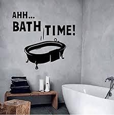 wandaufkleber tapete kunst badezimmer badewanne splish