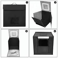 104 Studio Tent 70cm Portable Foldable Photo Led Shooting Cube Light Box Manufacturers And Suppliers Focus