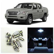 15pcs canbus white car led light bulbs interior package kit for