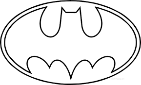 Batman Symbol Coloring Page Pedia Online