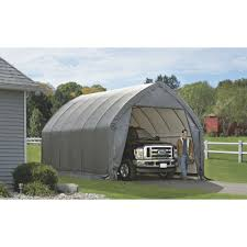 ShelterLogic Instant Garage-in-a-Box For SUV/Truck — 20ft.L X 13ft.W ...
