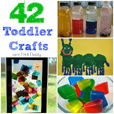 Here Is Are 42 Creative Toddler Craft Ideas For Your Kids