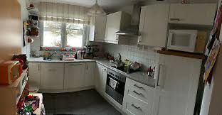 klassische ikea küche l form 1 8x2 4m cremeweiß
