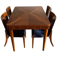 Art Deco Walnut Dining Set By Jindřich Halabala, 1940s For Sale At ... A 1940s Vintage Fixer Upper For Firsttime Homebuyers Decor Extendable Solid Oak Table 4 X Queen Anne Chairs Sold Country French Ding Set Table Leaves 6 Duncan Fife Ding Room Set Dingroomsetduncanphyfe1940s9 Baker 7 Pieces Chairish Mahogany Room Luxury Antique And Duncan Phyfe Chairs Cottage Carved Oak 2 Amazoncom Winsome Wood 94386 Halo Back Stool Kitchen Bernhardt Fniture Modern