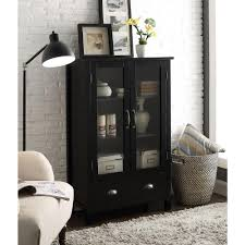 Black Pantry Cabinet Home Depot by Concepts In Wood Cherry Multi Use Storage Pantry Kt613c 3036 C