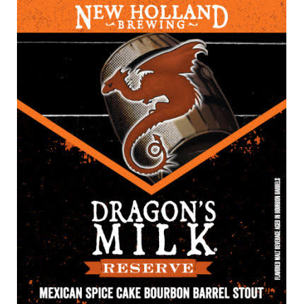 New Holland Dragon's Milk Reserve Mexican Spice Cake Bourbon Barrel Stout 4pk- BTLS 12oz