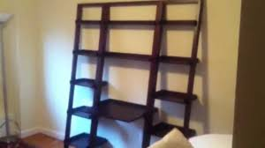 crate and barrel sloane java leaning bookcase trend and amazing