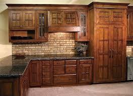 Craftsman Style Pendant Lights Mission Cabinet Doors Kitchen