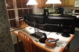 Monitor Shelf For Desk by Diy Triple Monitor Stand Monitor Stand Monitor And Desks