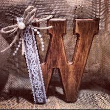 Rustic Cake Topper Monogram By JeNeBridal On Etsy 1975