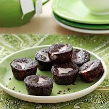 Chocolate Bottom Mini Cupcakes