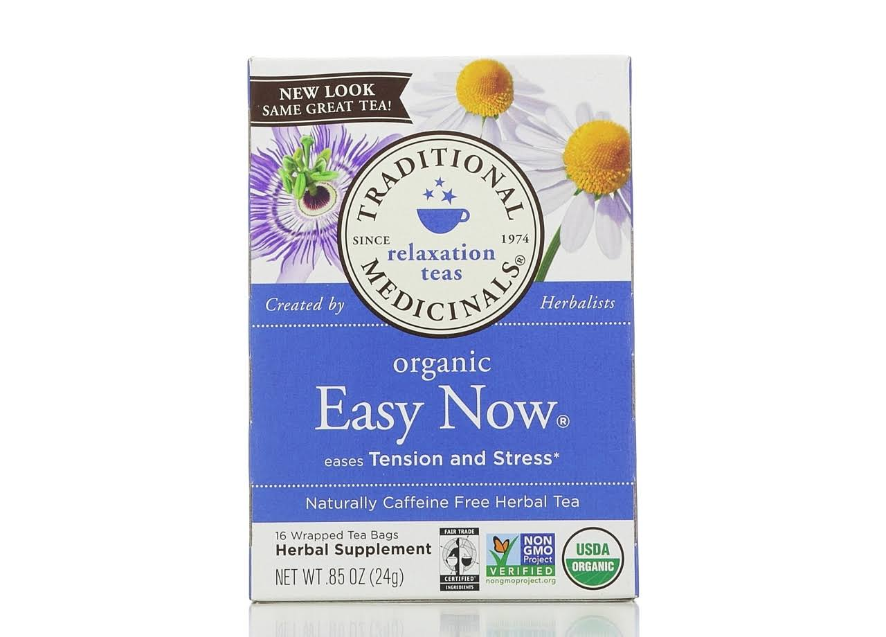 Traditional Medicinals Organic Cup of Calm Tea - 16 tea bags