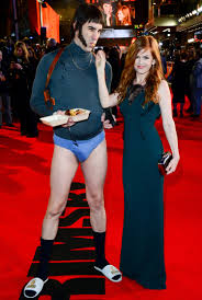 Carpet World Leicester by Sacha Baron Cohen Forgets His Trousers And Shuns Vip Treatment At