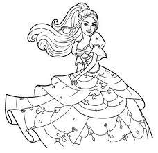 Barbie Para Colorear Imagenes Deamor