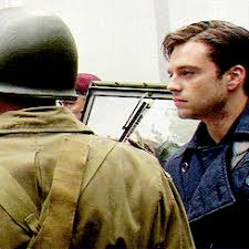 Gif Behind The Scenes Sebastian Stan First Avenger