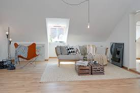 Minimalist Swedish Home With Modern White Interior Theme Brilliant Living Apartment Design Decorated Contemporary Smal