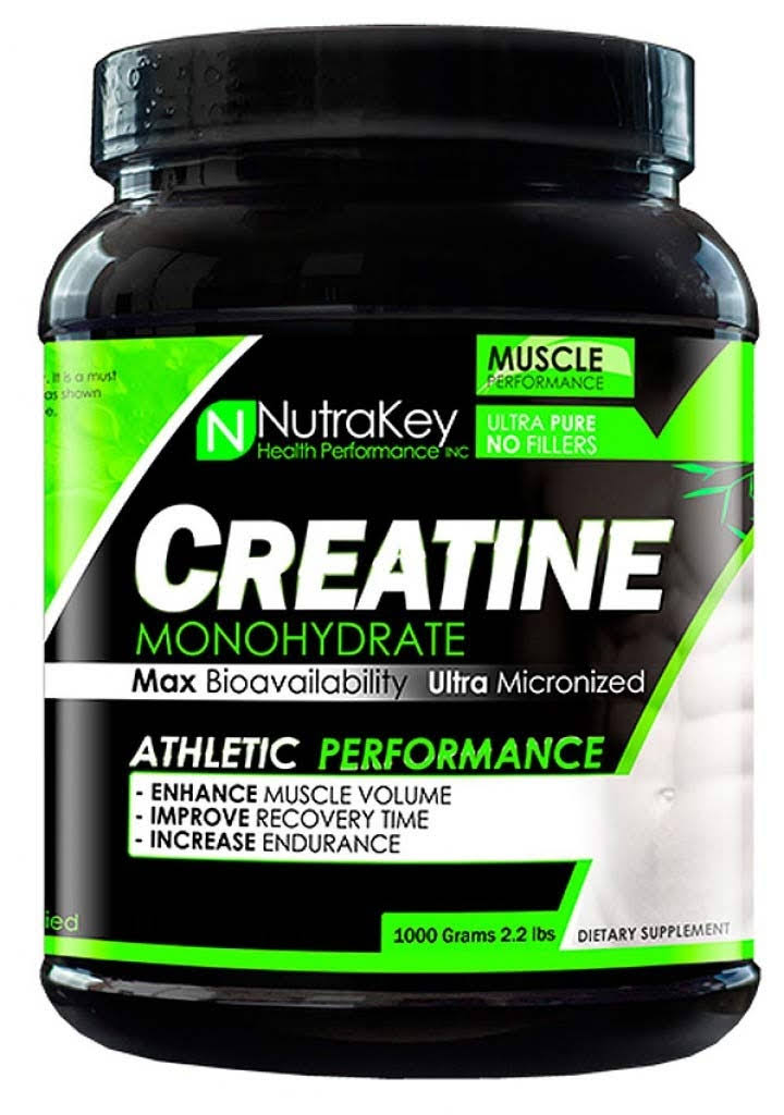 NutraKey Creatine Monohydrate Athletic Performance