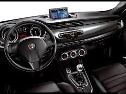 2011 Alfa Romeo Giulietta Interior Dashboard View