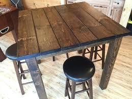 diy bar height table thelt co