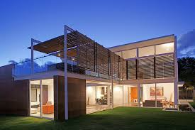 100 Modern Homes Design Ideas Home Metal Barn With Glass Railings And