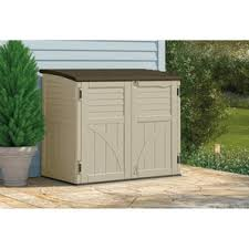 Rubbermaid Horizontal Storage Shed 32 Cu Ft by Home Hardware 34 Cu Ft Horizontal Storage Shed