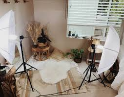 Current Studio View With Natural Light From The Window Photography Lighting Equipment And Lots Of Props