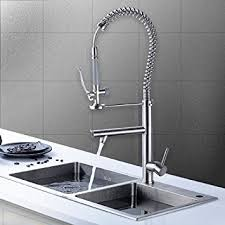 Commercial Pre Rinse Faucet Spray by Flg Commercial Pre Rinse Pull Down Kitchen Sink Faucet With