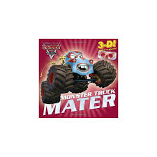 Used Monster Truck Mater [With 3-D Glasses] (Cars Toon) On OnBuy