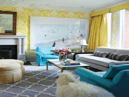 Grey Yellow And Turquoise Living Room by Awesome Gray Purple Turquoise Pastel Lavender Living Room Design