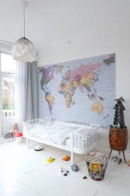 A cosy big bed & animal prints